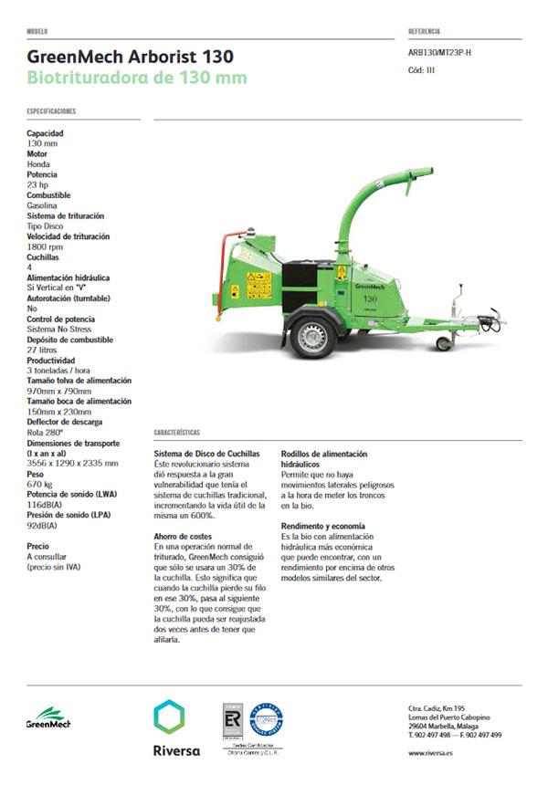 Greenmech 130