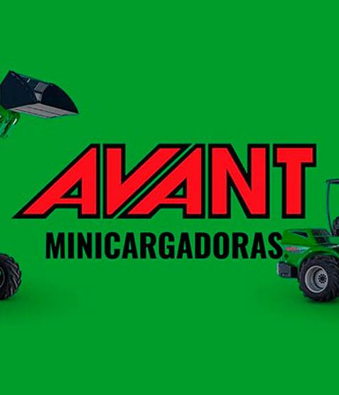 Minicarregadores AVANT